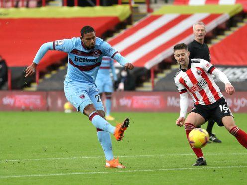 Sebastien Haller was West Ham's match-winner at Sheffield United (Cath Ivill/PA)