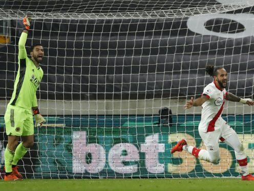Theo Walcott scored his first Southampton goal since 2006 (Andrew Boyers/PA)