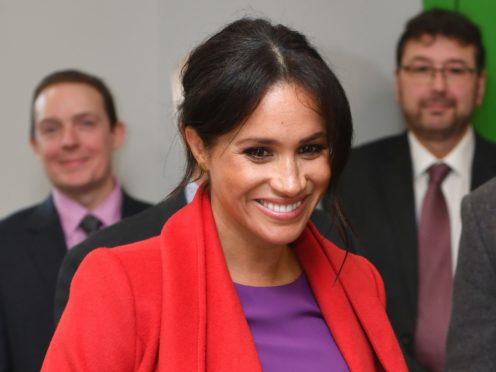 The Duchess of Sussex revealed she had a miscarriage in the summer (PA)