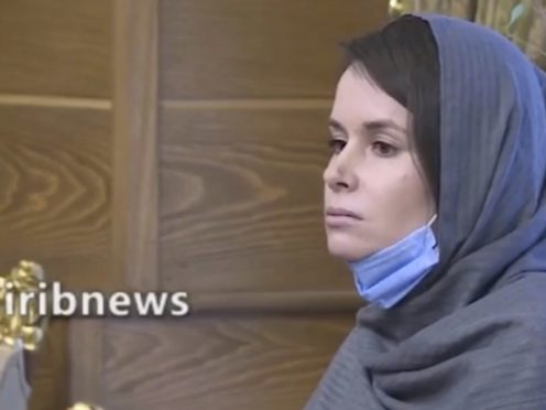 Academic Kylie Moore-Gilbert had been in Iran since 2018 (Iranian State Television via AP)