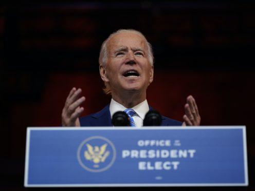 US President-elect Joe Biden (AP/Carolyn Kaster)