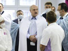 Belarusian president Alexander Lukashenko (Maxim Guchek/BelTA Pool Photo via AP)