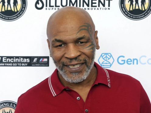 Mike Tyson's fight with Roy Jones Jr has ended in a draw (Willy Sanjuan/Invision/AP)
