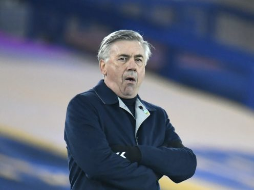 Everton manager Carlo Ancelotti insists the club are still heading in the right direction (Peter Powell/PA)