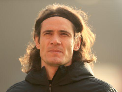 Edinson Cavani could face a ban for a social media post (Adam Davy/PA)