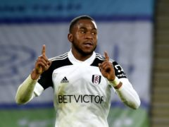 Fulham's Ademola Lookman scored the opener in the win at Leicester. (Rui Vieira/PA)