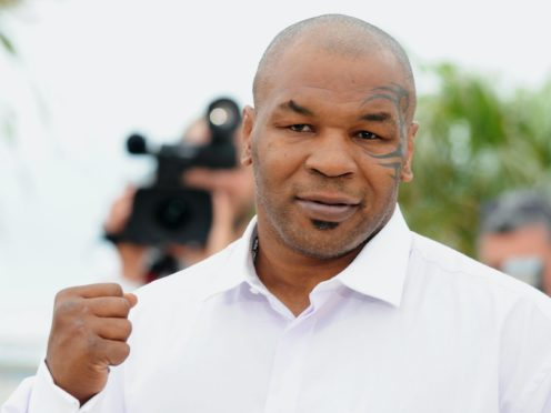 Mike Tyson will be back in the ring this weekend (Joel Ryan/PA)