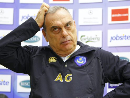Avram Grant endured a challenging time as Portsmouth manager (Chris Ison/PA)