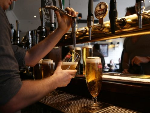 MSPs backed the general principles of legislation to reform the tied pubs sector (Yui Mok/PA)