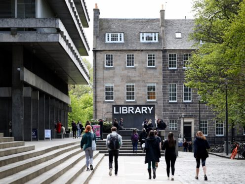 University bosses say next year's Scottish budget will be 'critical' for the sector (Jane Barlow/PA)