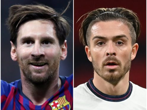 The futures of Lionel Messi and Jack Grealish are in the latest gossip (Nick Potts and Michael Regan/PA)