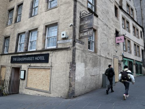 The Scottish Tourism Alliance said the sector had reached its 'most desperate time' since the start of the pandemic (Andrew Milligan/PA)