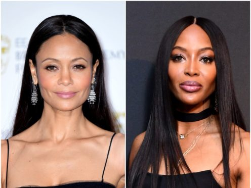 Thandie Newton and Naomi Campbell (PA)