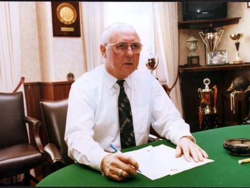 Tributes have been paid to Jim McLean (PA)