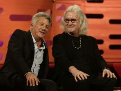 Dustin Hoffman and Sir Billy Connolly (Yui Mok/PA)