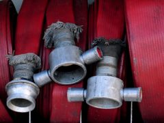 The Scottish Fire and Rescue Service said a couple of residents contacted them to report hearing a bang (Rui Vieira/PA)