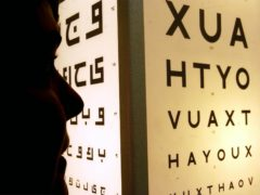 Targets for avoidable sight loss 'not being met', study suggests (Chris Young/PA)