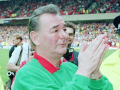 Brian Clough spent 18 years as Nottingham Forest's manager (David Jones/PA)