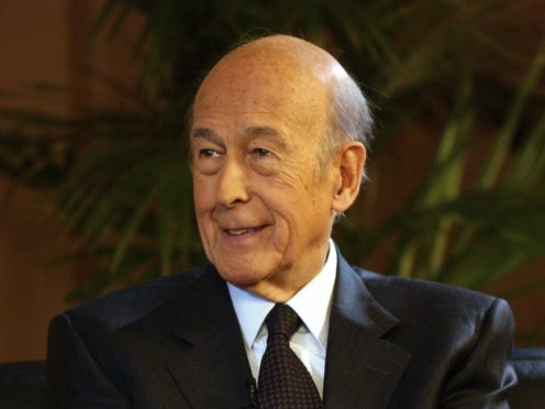 BBC undated handout photo of former French President Valery Giscard d'Estaing (Jeff Overs/BBC Handout/PA)