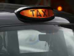 Taxi drivers will be able to apply to a one-off grant scheme and a £19 million fund (Jonathan Brady/PA)