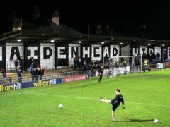 Maidenhead were big winners at York Road (Nigel French/PA)