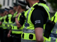 A 16-year-old girl was arrested in Greenock (Andrew Milligan/PA)