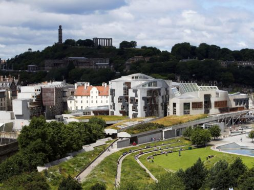 The project would see a second chamber established at Holyrood (Jane Barlow/PA)