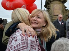 Tracy Brabin, MP for Batley and Spen, has been selected to run as Labour's candidate in the West Yorkshire mayoral election (Anna Gowthorpe/PA)