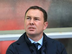 Derek Adams wants more from his players (Nigel French/PA)