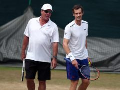 Andy Murray, right, began his coaching partnership with Ivan Lendl on December 31, 2011 (Gareth Fuller/PA)