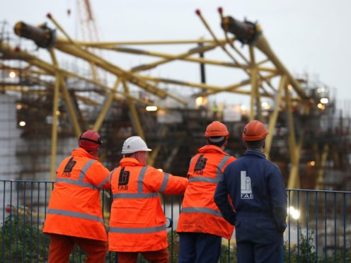 The Scottish Government considered public ownership of BiFab but decided it would be unlawful (Andrew Milligan/PA)