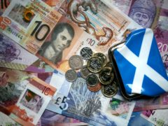Audit Scotland reviewed the Scottish Government's accounts (Jane Barlow/PA)