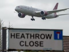 Heathrow's expansion plans were left up in the air when opponents won a Court of Appeal challenge in February (Steve Parsons/PA)
