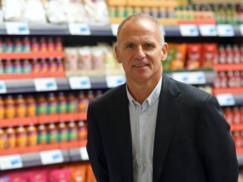 Former Tesco chief executive Dave Lewis (Joe Giddens/PA)