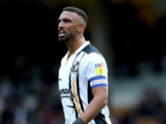 Port Vale skipper Leon Legge was benched last time out (Barrington Coombs/PA)