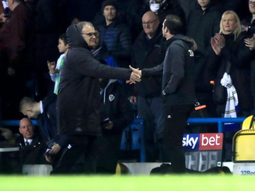 Marcelo Bielsa and Frank Lampard meet again on Saturday (Simon Cooper/PA)