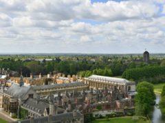 Cambridge University (Joe Giddens/PA)