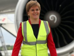 Edinburgh Airport chief executive Gordon Dewar criticised First Minister Nicola Sturgeon over comments she made about not booking holidays (Andrew Milligan/PA)