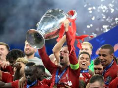 Liverpool, Champions League winners in 2019, are waiting to learn who they will play in the last 16 of this season's competition (Mike Egerton/PA)