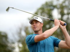 France's Victor Perez enjoys a one-shot lead after the opening day of the DP World Tour Championship (Jane Barlow/PA)