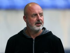 Tranmere manager Keith Hill made several changes in their last league game (Richard Sellers/PA)