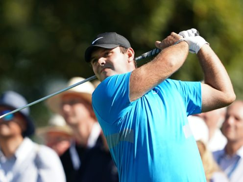 Patrick Reed could make history in the UAE (Tess Derry/PA)