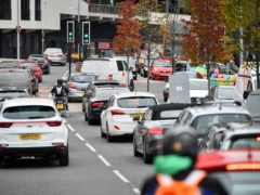 Campaigners want to see Clean Air Zones brought in to curb air pollution from traffic (Ben Birchall/PA)
