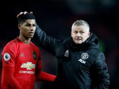Manchester United manager Ole Gunnar Solskjaer is hoping for good news about Marcus Rashford (Martin Rickett/PA)