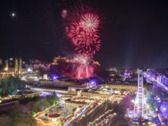 Scot should not gather with others on Hogmanay (Jane Barlow/PA)
