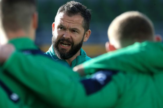 Andy Farrell expected a bumpy ride as Ireland head coach (Donall Farmer/PA)