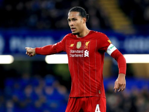 Virgil Van Dijk has become a colossal figure for Liverpool since his record-breaking move from Southampton in December 2017 (Mike Egerton/PA)