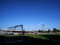 Boreham Wood's National League home game against Wealdstone was postponed because of a positive coronavirus test in the visitors' squad (John Walton/PA)