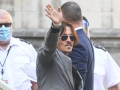 Johnny Depp claims he did not receive a fair trial (Victoria Jones/PA)