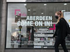 Aberdeen is one of three local authorities moving in to Level 3 (Andrew Milligan/PA)